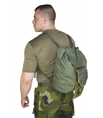 Compact hoversack pouch
