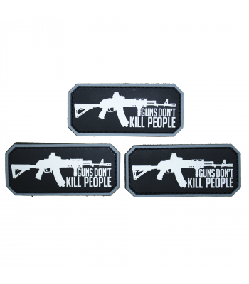 """Guns Dont Kill People"" patch"