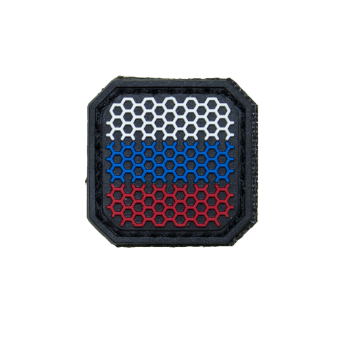 """""""Small Russian Web Flag"""" PVC Patch"""