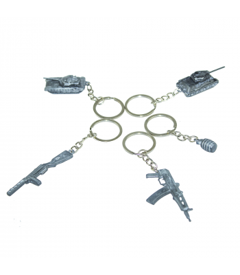 Souvenir Weapon Keyrings