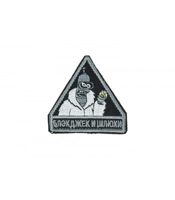 """""""Blackjack and girls"""" patch"""