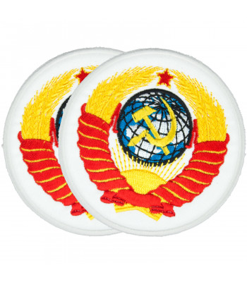 """Big USSR Emblem"" Embroidered Patch"
