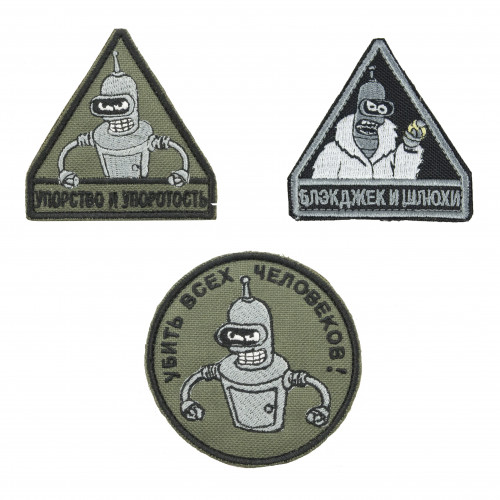 """""""Bender Collection"""" Embroidered Patch"""