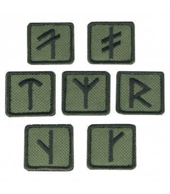 """Rune"" Embroidered Patch"