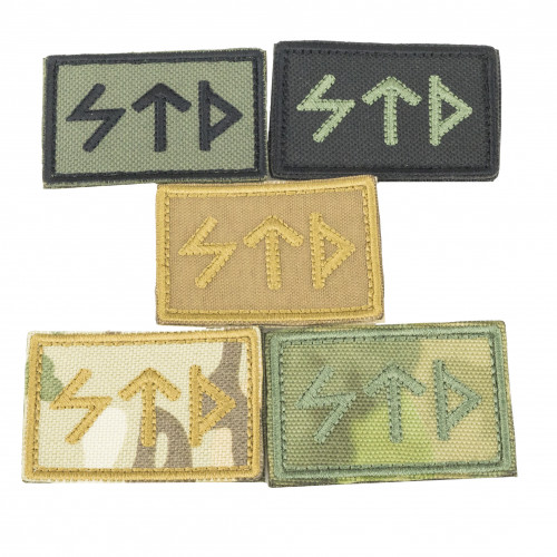 """""""STD"""" Embroidered Patch"""