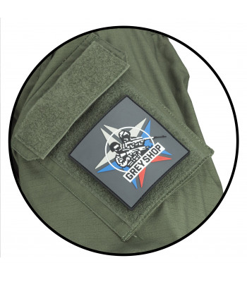 """Grey-Shop"" PVC Patch"