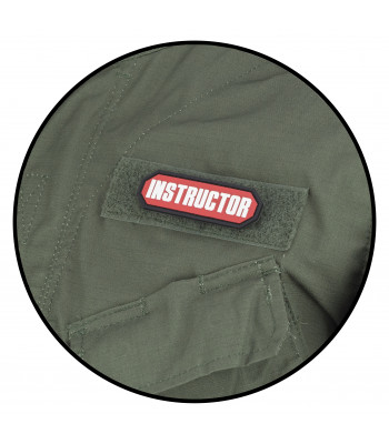 """Instructor"" PVC Patch"