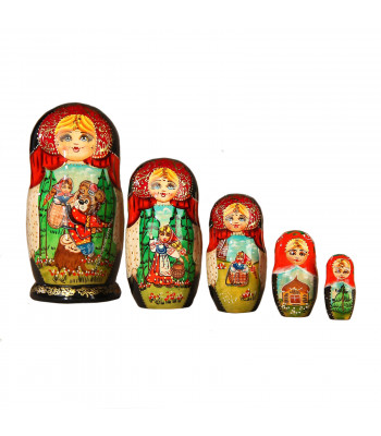 "Matryoshka ""Masha and the bear"""
