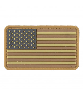 """Big US Flag"" PVC Patch"