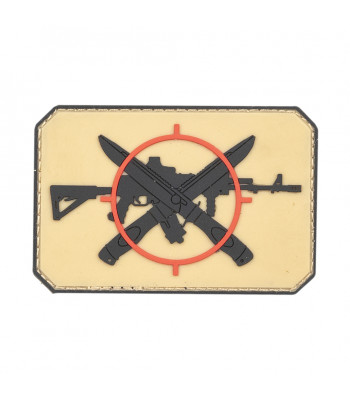"""Knifes and AK"" PVC Patch"