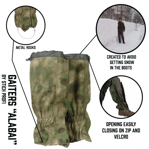 "Gaiters ""Alabai"""