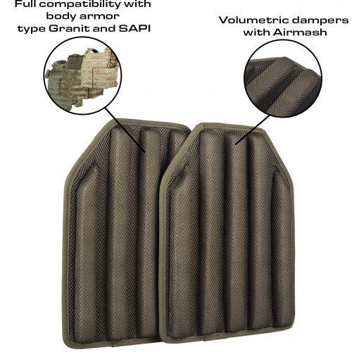 "Body Armor Lining Set ""KAP"""