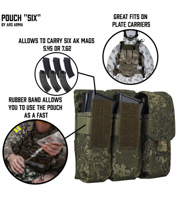 "Pouch ""Six"""