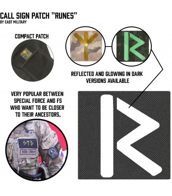 "Call Sign Patch ""Runes"""