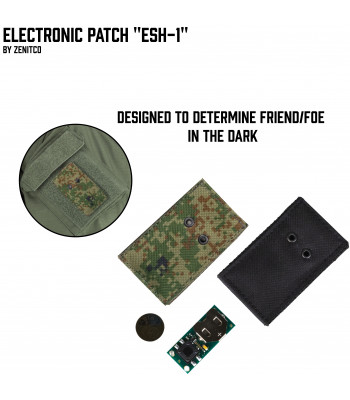 "Electronic patch ""ESh-1"