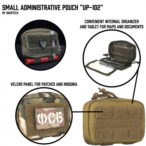 "Administrative Pouch ""Spotter"" UP-102"