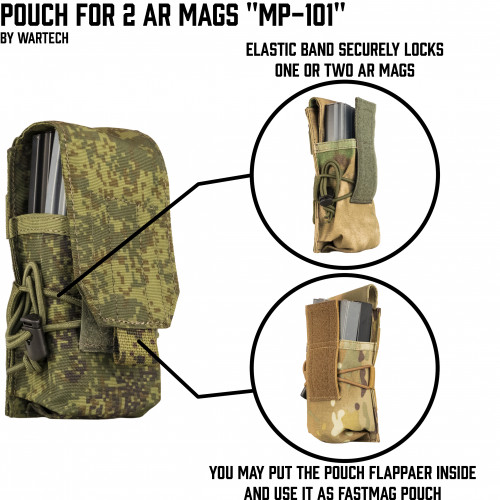 "Pouch ""MP-VAL"" MP-101"
