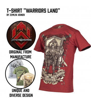 "T-Shirt ""Warriors Land"""