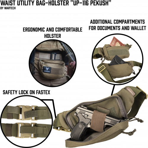 "Utility bag-holster ""UP-116 PEKUSH"""