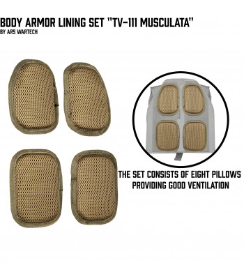 "Body Armor Lining Set ""TV-111 Musculata"""