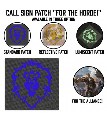 "Call Sign Patch ""For The Alliance!"""
