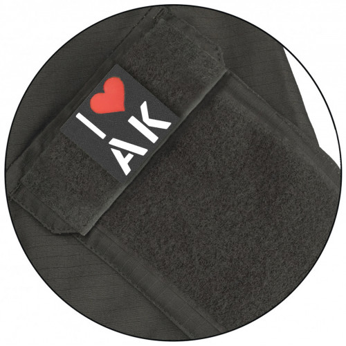 "Call Sign Patch ""I love AK"""