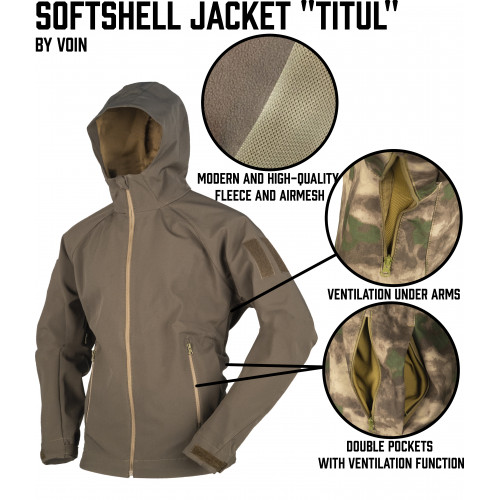 "VOIN Softshell Jacket ""Titul"""