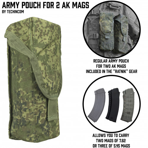 Army Pouch for AK Mags
