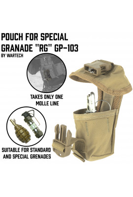 Pouch for special granade