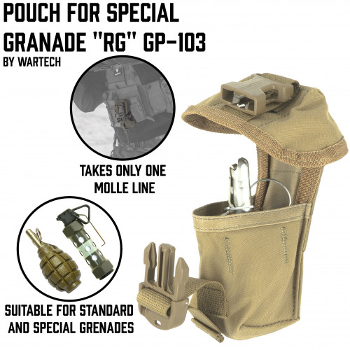 "Pouch for special granade ""RG"" GP-103"