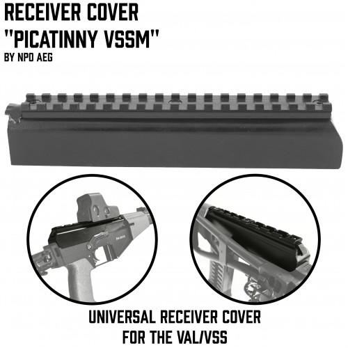 "Receiver Cover ""Picatinny VSSM"""