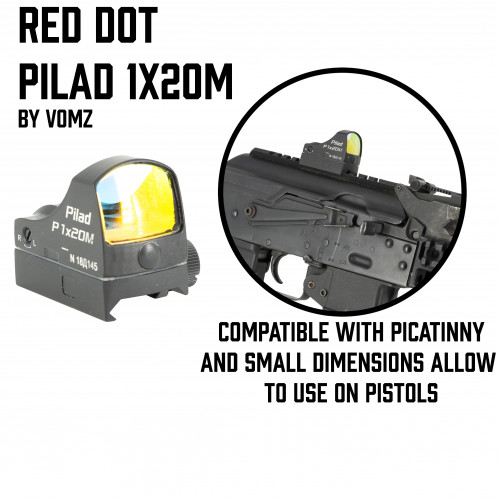 "Red Dot Pilad 1x20 ""Micro"""
