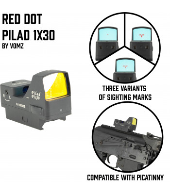 "Red Dot Pilad 1x30 ""Recruit"""