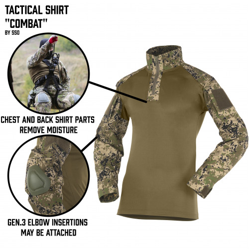 "Tactical Shirt ""Combat"""