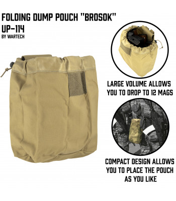 "Dump Pouch ""Roll"" UP-114"