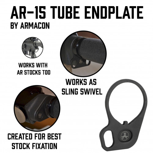 "AR-15 Tube Endplate ""Armacon"""