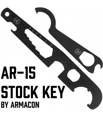 "AR-15 Stock Key ""Armacon"""
