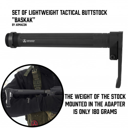 "Lightweight Buttstock ""Baskak"""