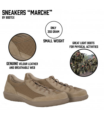 "Sneakers ""Marche"""