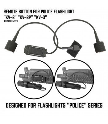 "Remote button ""KV"" for Zenitco-2 Flashlights"