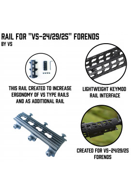 Rail for