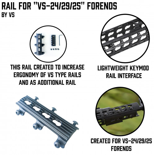 "Rail for ""VS-24/29/25"" Forends"