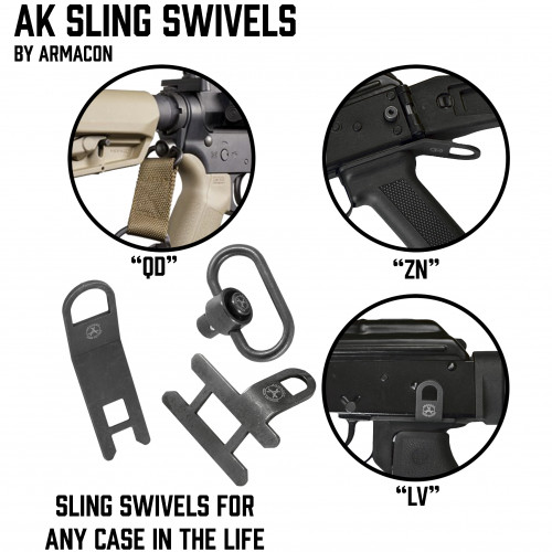 "AK Sling Swivels ""Armacon"""