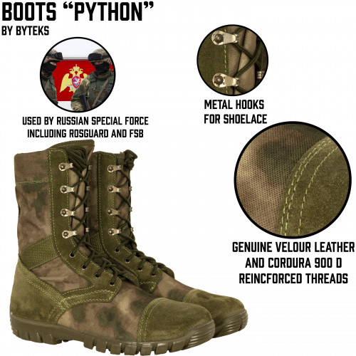"Tactical Boots ""Python"""