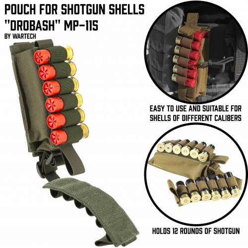 "Pouch for shotgun shells ""Shell"" MP-115"