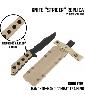"Knife ""Strider"" replica"