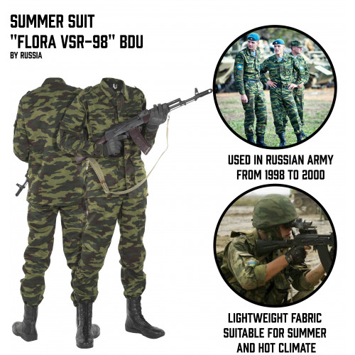 "Summer Suit ""Flora VSR-98"" BDU"