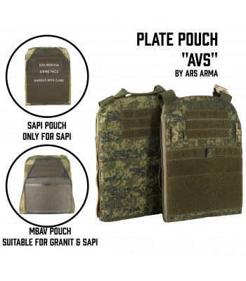 "Plate Pouch ""AVS"""