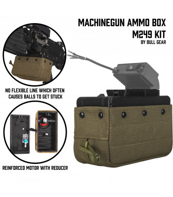 Machinegun Ammo Box M249