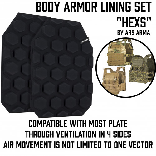 "Body Armor Lining Set ""Hexs"""